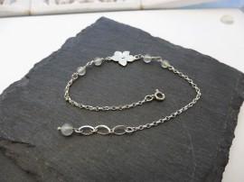 Név Nyaklánc - ezüst betétes nyaklánc - Mithrillion Elegancia