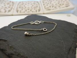 Indácska ezüst karlánc - Mithrillion Elegancia