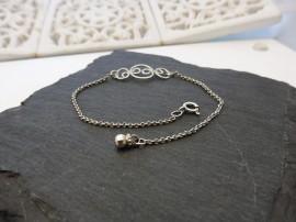 Együtt - ezüst karlánc - Mithrillion Elegancia